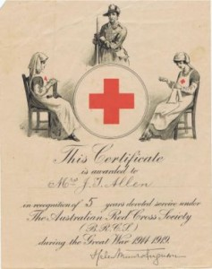 Red Cross Certificate Maldon Event